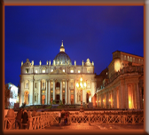front view of the Vatican